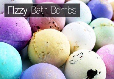 Big Fizzy Bath Bombs